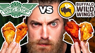 Wingstop vs. Buffalo Wild Wings Taste Test