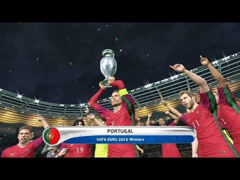 Pes 2016 Uefa Euro 2016 Final Portugal vs France 2-1