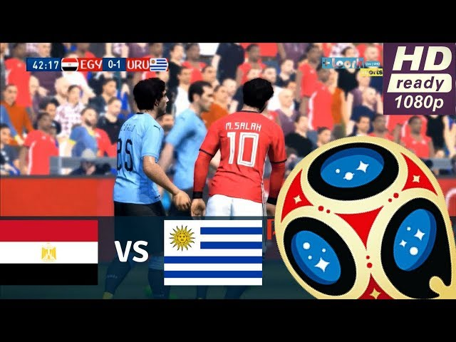 EGYPT vs URUGUAY | 0-1| Goals and Highlights | FIFA World Cup Russia 2018 | Group A | 15/06/2018