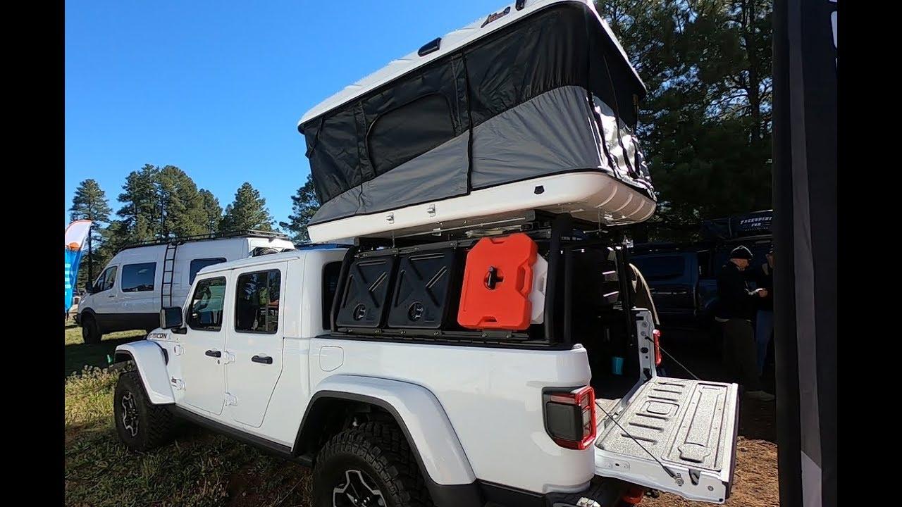 Overland Jeep Gladiator Cargo Rack System By Leitner Designs