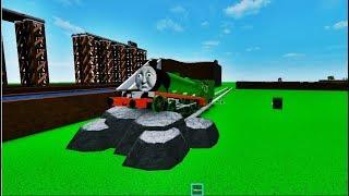 Thomas o motor do tanque e amigos-dê um passeio em Lets go Thomas Roblox