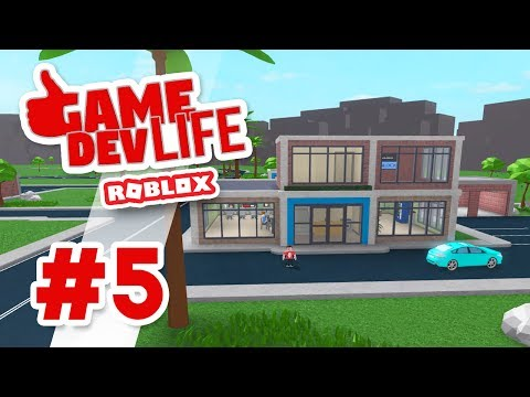 Game Dev Life #5 - SECOND FLOOR OFFICE (Roblox Game Dev Life)