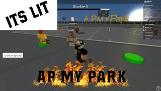 Roblox - AP MY PARK Quick 2s game.