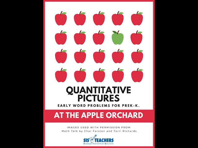 Quantitative Pictures: At the Orchard