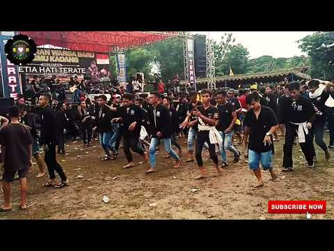 Joget PSHT 1922 Juragan empang !!!  ribuan warga PSHT  temu kangen di desa bancar 12 november 2017