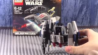 Lego star wars 75073 Дроид-стервятник (обзор на русском языке)