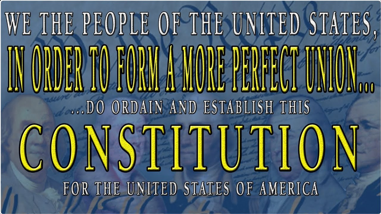 The Constitution of the United States - part 1 of 2 * Founding Fathers Series * PITD