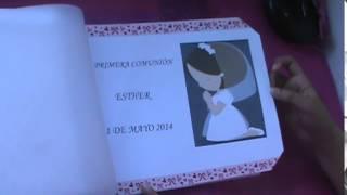 Album de Primera Comunión (Scrapbook)