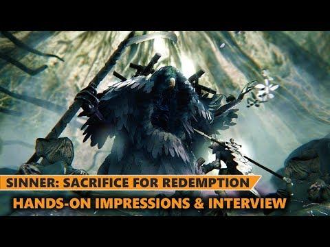 Sinner : Sacrifice for Redemption | Gameplay Hands-on Analysis & Interview