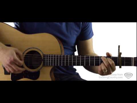 Drunk On A Plane - Guitar Lesson and Tutorial - Dierks Bentley