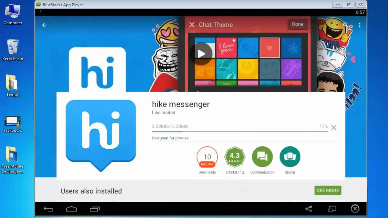 Hike messenger for pc free download software.