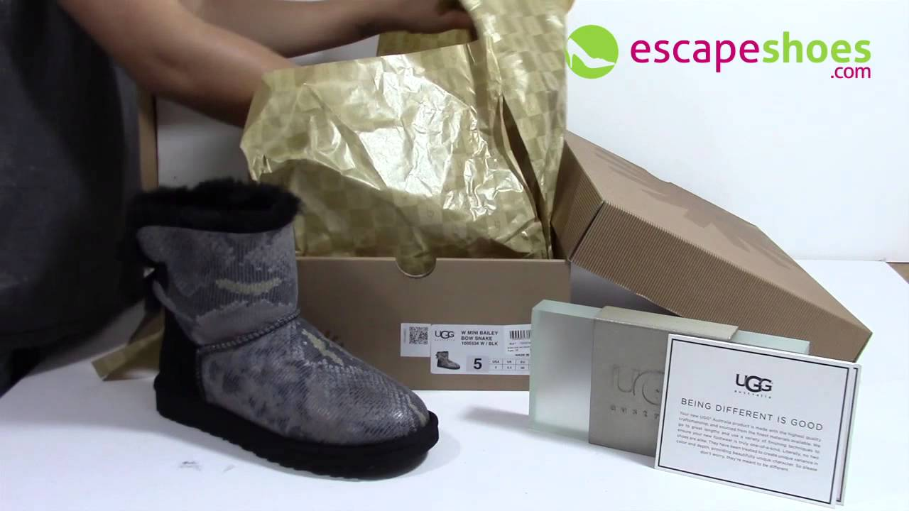 a0a65b1d956 spain ugg classic mini boot on foot a4248 01f2e