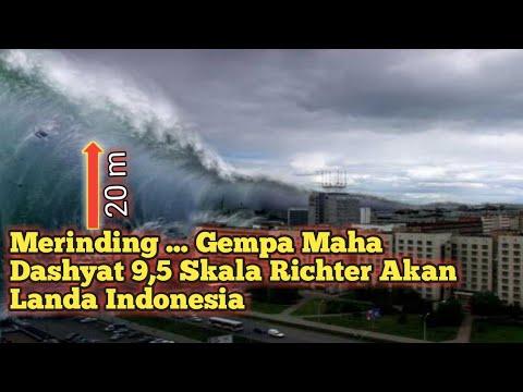 Merinding! Seorang Peneliti Prediksi Indonesia Bisa Dilanda Gempa Maha Dashyat 9,5 SR