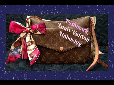 875408d8a Poshmark Unboxing - Louis Vuitton - YouTube