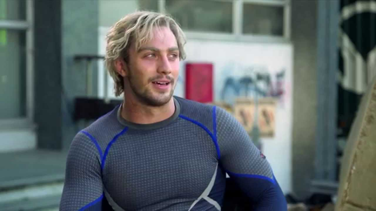 Avengers Age of Ultron Interview - Aaron Taylor-Johnson ...