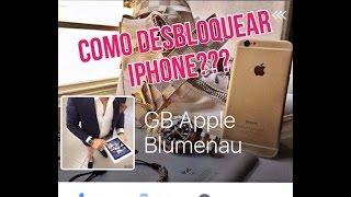 Como desbloquear Iphone 4, 4s, 5, 5c, 5s, 6 e 6s