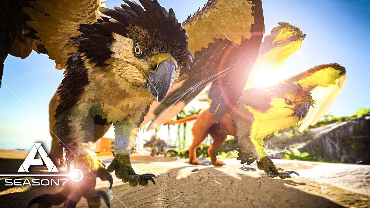 ARK: Survival Evolved - APEX GRIFFIN TAMING & BREEDING, BABIES #4 - Modded  | Mods Survival Gameplay