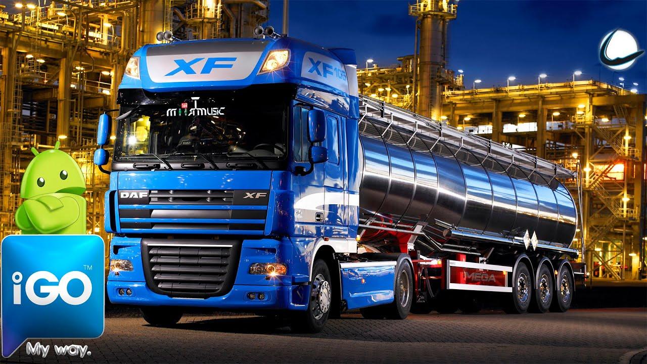 Igo Primo Truck Profesional Gps Android 12 000 Poi Voces Y