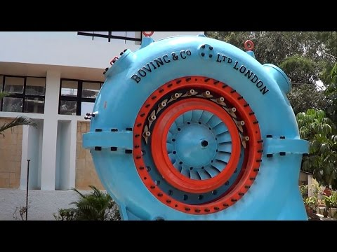 Visvesvaraya Industrial & technological museum, Bangalore –Engines from historical to contemporary