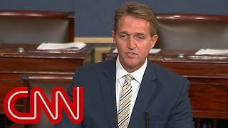 Flake: Trump battered and abused the truth
