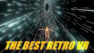 THE BEST RETRO VR GAME! | REZ INFINITE VR (VIVE)