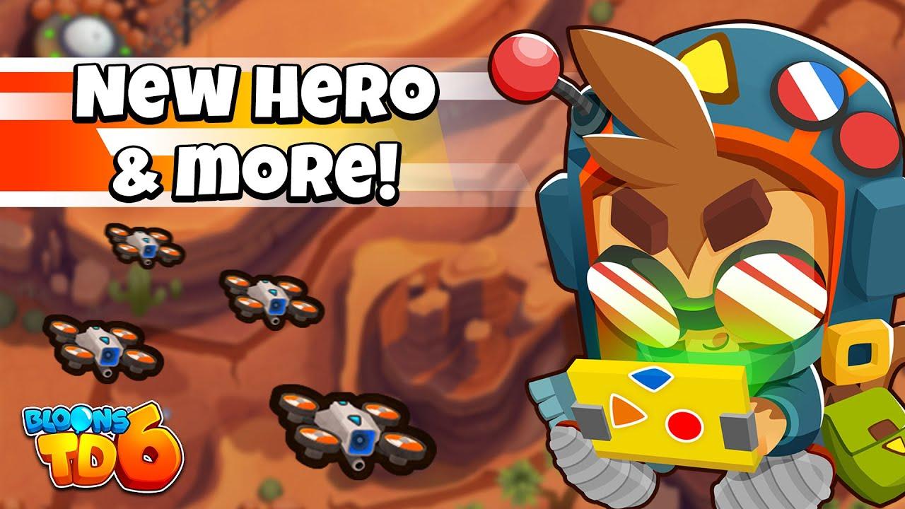 Bloons TD 6 Update 20.0 - NEW HERO, SKIN, MAP & MORE!