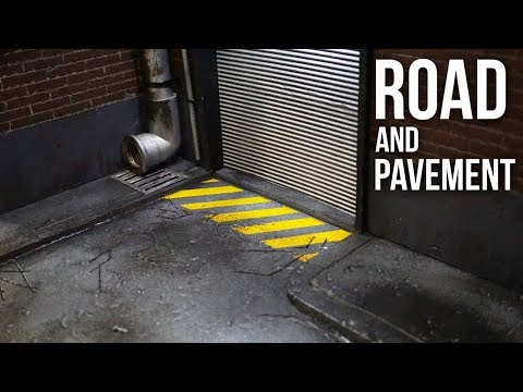 Road and Pavement Diorama *Tutorial* EP16