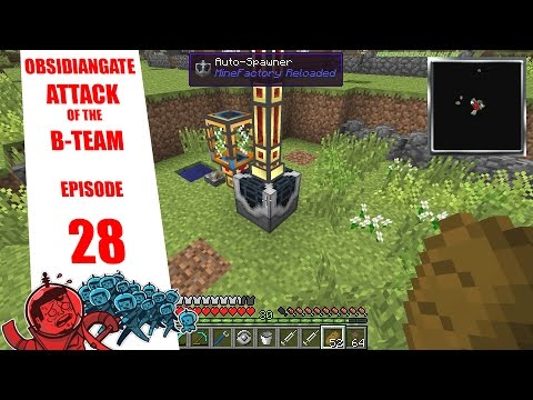 Minecraft ObsidianGate Attack of the B-Team Modpack: Episode