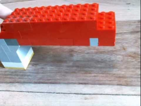 how to make a lego gun that shoots - YouTube