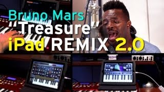 Bruno Mars - Treasure iPad Remix 2.0 (feat. Guy Lockard)