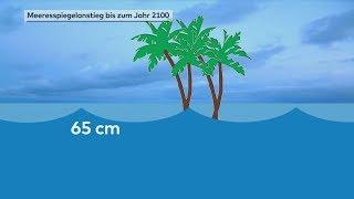 Klimawandel: Meeresspiegel steigt viel stärker als gedacht