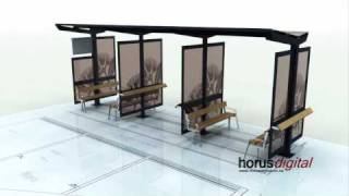 Bus Shelter Animation