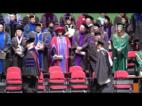 University of North Dakota Winter Graduate Degree Commencement Ceremony