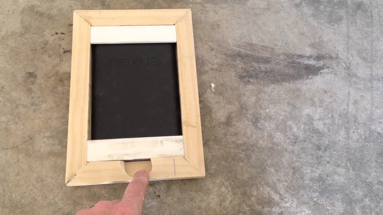 wall mounted tablet video 1