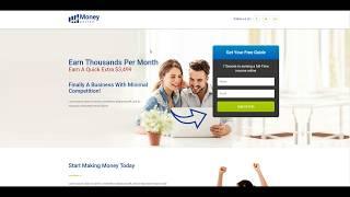Lead gen money online squeeze page ...