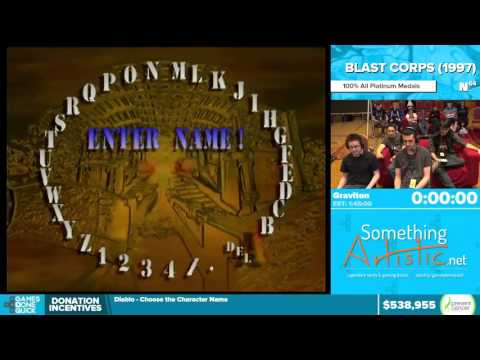 Blast Corps by Graviton in 1:36:31 - Awesome Games Done Quick 2016 - Part 122