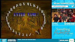 Blast Corps By Graviton In 1:36:31   Awesome Games Done Quick 2016   Part 122