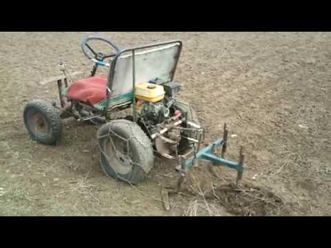 Мини трактор своими руками Udec