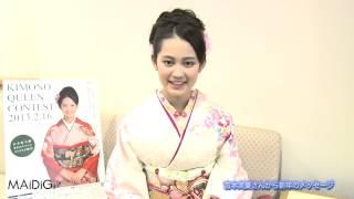第13回「全日本国民的美少女コンテスト」で、小澤奈々花さん(13)とと...