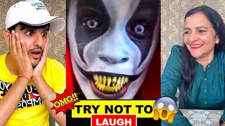 TRY not to LAUGH challenge VS my MOM !! *IMPOSSIBLE*