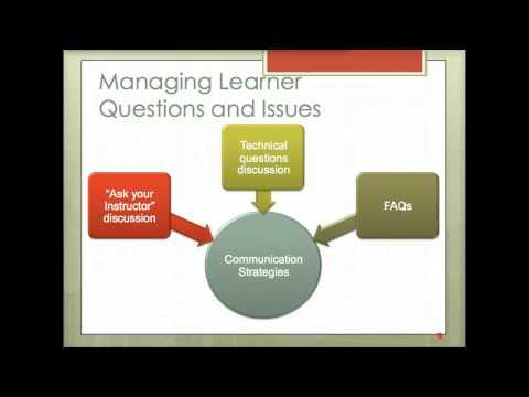 Communication Strategies for Managing Online Teaching