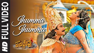 Full Jhumma Jhumma Video Song  Kannada  Munirathna Kurukshetra  Darshan Hari Priya  Munirathna