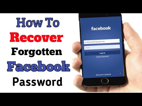 How To Recover Forgotten Facebook Password 2019 || RECOVER FORGET FB PASSWORD ||