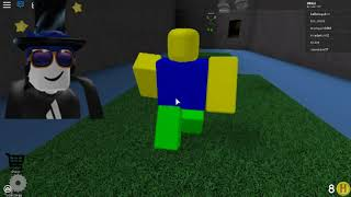 My brother plays roblox for the first time on YT