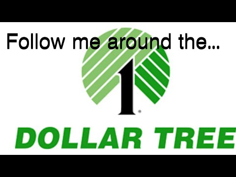 Follow Me Around The Dollar Tree/Myers! Shout Outs At The End!