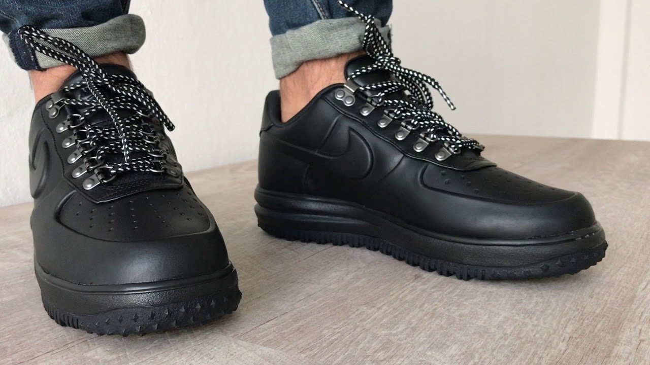 air force 1 duckboot low on feet
