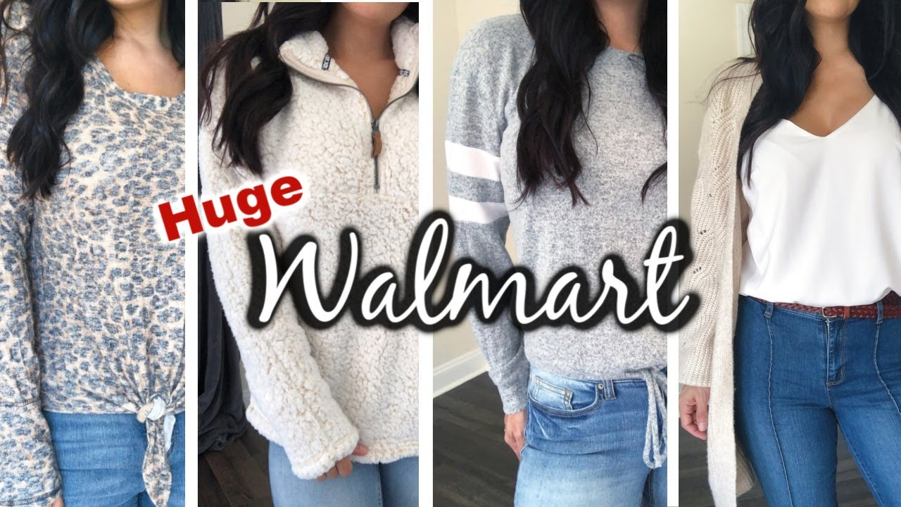 [VIDEO] - HUGE Walmart Fall Clothing Try On Haul | Walmart Fall Outfit Ideas 2