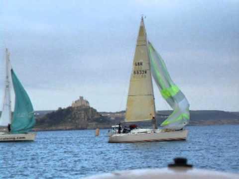 PASAB start. Penzance Sailing Club 2011. Sailing, Offshore.