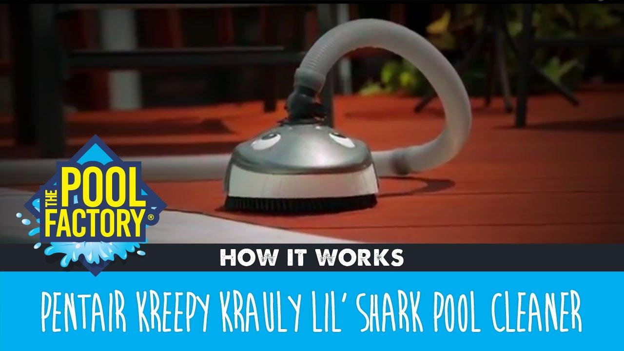 Pentair Kreepy Krauly Lil' Shark Pool Cleaner - How it works