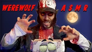 ASMR WEREWOLF BRINGS YOU TO BED   Scary Triggers for Sleep